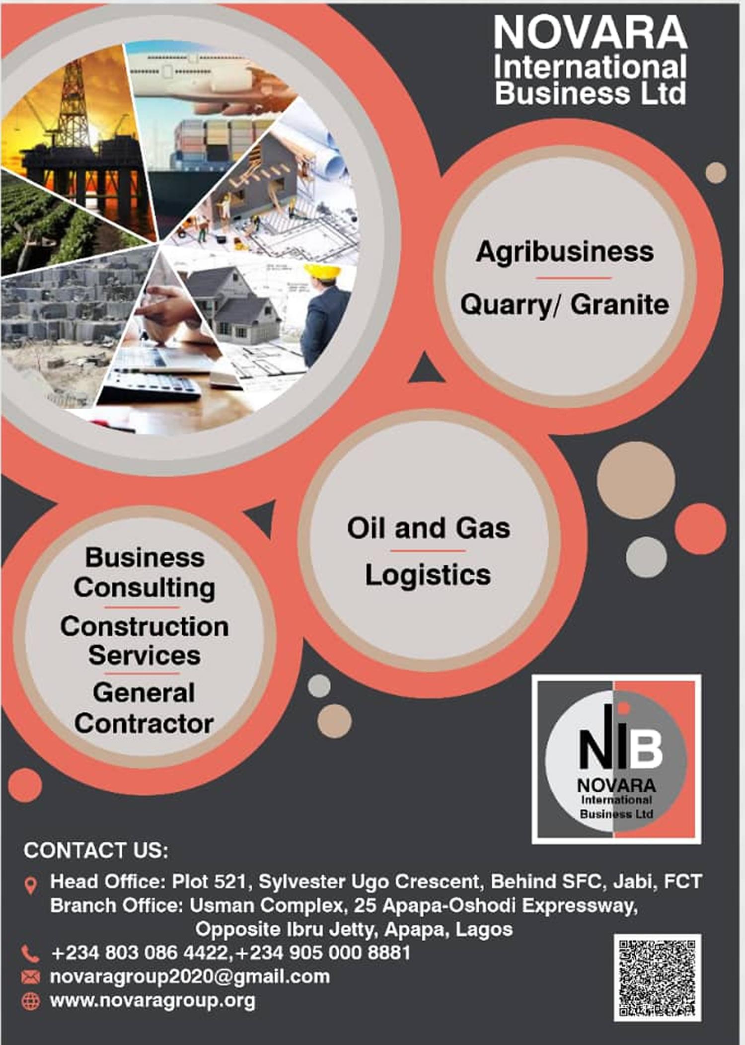 novara logistics full page